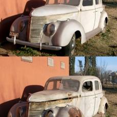antes y después coche